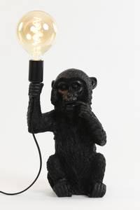 Bilde av Bordlampe med svart apekatt